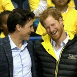 Harry, when he met with Prime Minister Justin Trudeau. (Photo: Archive)