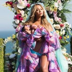 Queen B posted a picture of her new babies, Sir and Rumi Carter, that so fast has more than 6 million likes on Instagram. (Photo: Instagram)