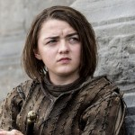 Maisie Williams as Arya Stark. (Photo: Archive)