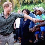 Prince Harry visiting Saint Vincent and the Grenadines, last year. (Photo: Archive)