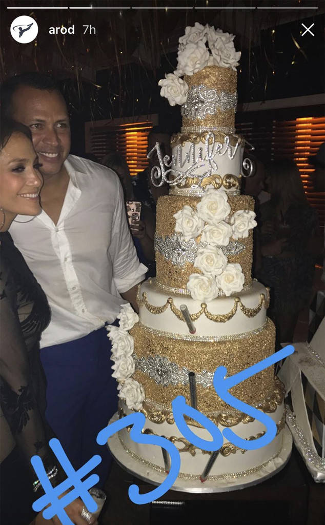 Jennifer Lopez And Alex Rodriguez Celebrate With A Joint Birthday