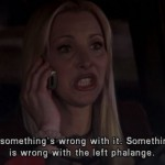 When there was something wrong with the left phalange! (Photo: Archive)