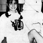 During her high school years, Sandra was part of the cheerleading team and played in many theater productions. (Photo: Archive)