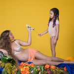 Blue Ivy, the new big sister, has also been feature many times on Beyoncé's Instagram. (Photo: Release)