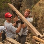 Prince Harry helping Team Rubicon UK rebuild an earthquake damaged community. (Photo: Archive)