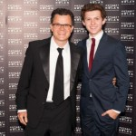 His father, Dominic Holland, is a stand-up comedian. (Photo: Archive)