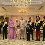 Royal family of Brunei. (Photo: Release)