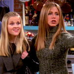 Reese played Rachel's little sister Jill Green and since the pair has remained friends over the years. (Photo: Archive)
