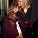 Cara Delevinge was so excited to meet Reese Witherspoon that she forgot to look at the camera. (Photo: Archive)