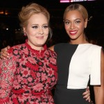 Even the incredible Adele was nervous when she met Beyoncé. (Photo: Archive)