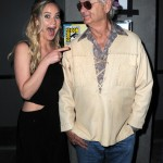 Jennifer Lawrence with Ghostbuster's legend, Bill Murray. Her face says it all. (Photo: Archive)