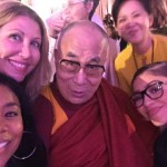 He may not be a Hollywood celebrity, but Zendaya couldn't resist taking a picture with Dalai Lama. (Photo: Archive)