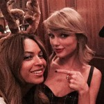 Taylor Swift happy to meet the one and only Queen B. (Photo: Archive)