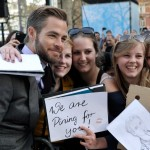 Chris Pine, the Pine-Nuts. (Photo: Archive)