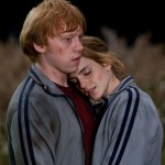 Hemione and Ron (Harry Potter). (Photo: Archive)