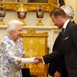 The Queen meets many people on any given day of official engagement, and on any of those give days, she shakes thousands of hands. White gloves no only compliment her personal style, but they also serve to help keep germs away from her. Especially now that she's 91 years old! (Photo: Archive)