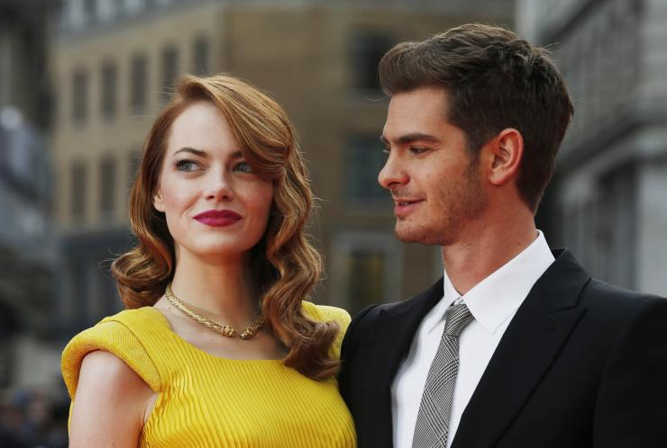 Emma Stone and Andrew Garfield might be giving their love a second chance. (Photo: Archive)