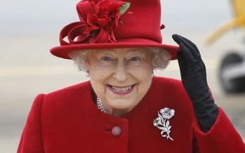 The Queen Of Color: 15 Elizabeth II's Rainbow Outfits