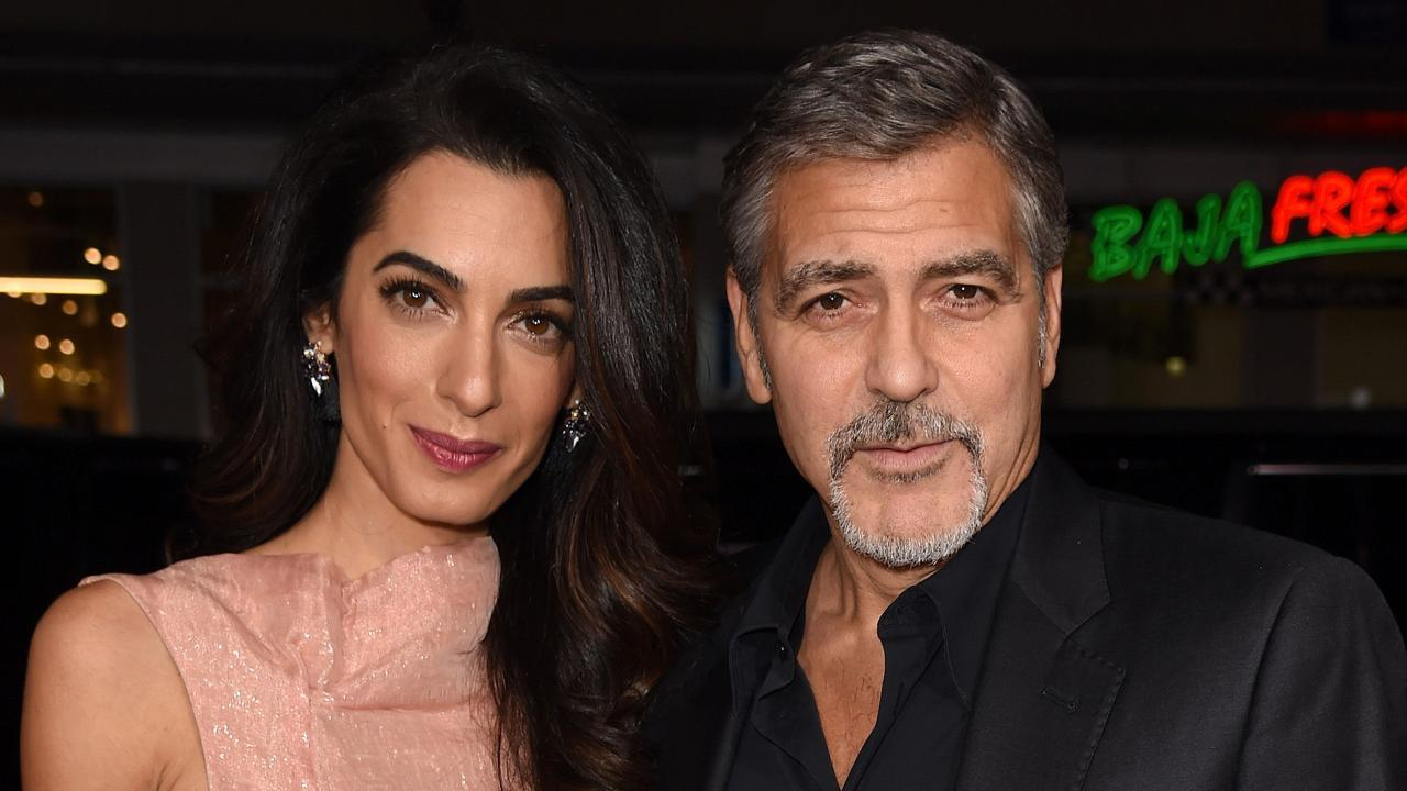 George and Amal Clooney donated $1 million to Southern Poverty Law Center (SPLC), a group that combats hate groups in America. (Photo: Archive)