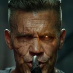 On Monday, Ryan Reynolds shared a picture of Josh Brolin as cyborg pal Cable in Deadpool 2. (Photo: Twitter)
