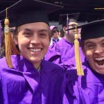 On their graduation day, Dylan walked away with Cole's BA in Archaeology, while Cole had Dylan's BA in Video Game Design. he boys have said that they knew no one would notice if they went up for each other's diplomas, so they figured why not just go ahead and pull off a classic twin prank? (Photo: Archive)
