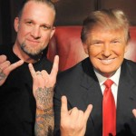 """Jesse James announced his support for Donald Trump in two lengthy Instagram posts back in January 2016. """"This guy is the Real Deal, and will Make America Great Again,"""" he wrote. (Photo: Archive)"""