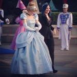 "She might have sing ""Let It Go"" for Frozen, but Cinderella is her favorite Disney princess. (Photo: Instagram)"
