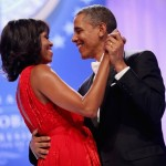 President Obama and first lady Michelle dance together during the Inaugural Ball. (Photo: Archive)