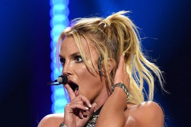 Britney Spear's Fan Crashes Stage During Her Las Vegas Show