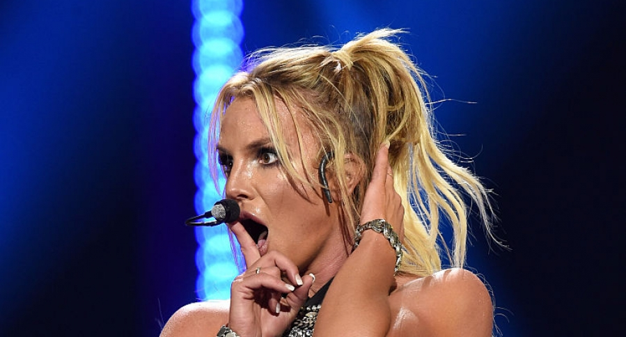 A man crashed the stage at a Britney Spears concert in Las Vegas. (Photo: Archive)