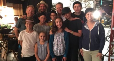 The Beckhams Took Over The Filming Set Of Modern Family