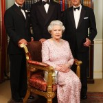 Three generation of the royal family posing on June 2, 2003, before a dinner celebrating the 50th anniversary of Queen Elizabeth II'S coronation. (Photo: Archive)