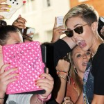 Miley Cyrus, the Smilers. (Photo: Archive)