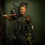Reynolds shared a second picture, a full body shot showing off Cable's gun, weapons, and worn teddy bear. (Photo: Twitter)