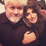 September 24: Pedro Almodovar, Nia Vardalos. (Photo: Instagram)