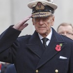 The Duke of Edinburgh visiting the Field of Remembrance at Westminster Abbey in November 10, 2011. (Photo: Archive)