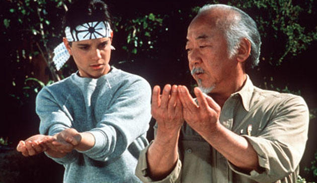 Pat Morita was initially turned down for the role of Mr. Miyagi because producers felt that audiences would not take him seriously due to his background in comedy. (Photo: Archive)