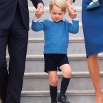"Have you notice Prince George always wears shorts? There's a tradition among the upper class, aristocracy and royals to dress young boys in shorts—it's often considered decidedly ""suburban"" not to do so. (Photo: Archive)"