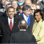 Barack Obama is sworn in as the 44th president of the United States. (Photo: Archive)