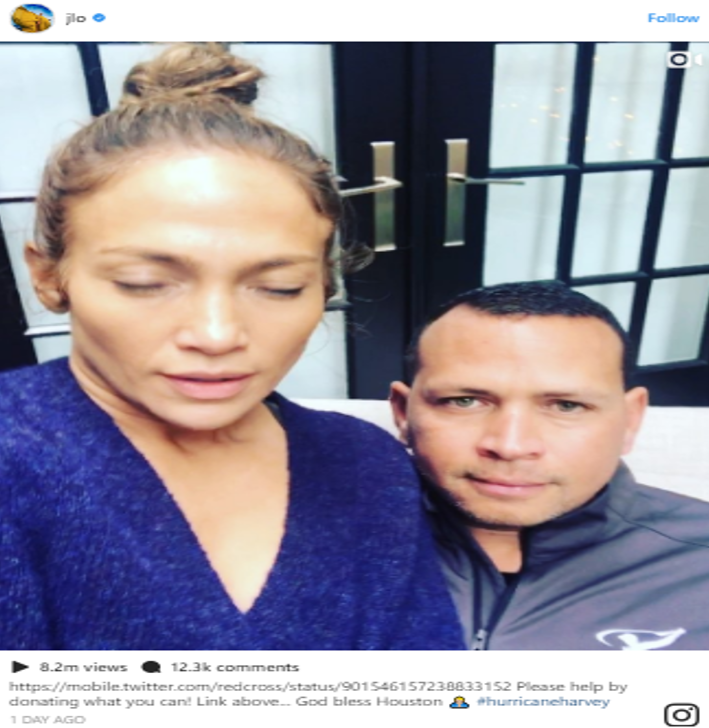 J Lo (Photo: Instagram)