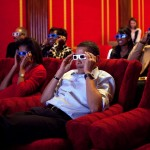 Obama wears 3D glasses during a Super Bowl viewing at the White House. (Photo: Archive)