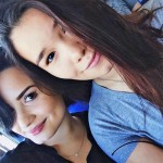 On of Demi's half-sister, Madison De La Garza, is famous too. She's best known for being on Desperate Housewives as the daughter of Eva Longoria's character Gabi. (Photo: Archive)