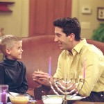 One of the few childhood roles they didn't share was Ross's son Ben in Friends. That was all Cole! (Photo: Archive)
