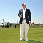 For his more casual looks, Donald Trump opts for a pair of pleated chinos. Super light, super dad-ish (and not in the cool dad way), pleated chinos. They probably wouldn't be as bad if they were, again, a little more fitted. (Photo: Archive)
