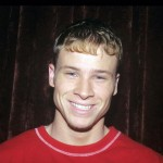 Brian Littrell in the 90's (Photo: Archive)