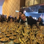 The behind the scenes of the Emmys 2017 might not be what you thought… (Photo: Instagram)