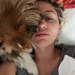 Miley Cyrus and Emu (Photo: Instagram)