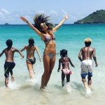 Heidi Klum, 4 children. (Photo: Instagram)
