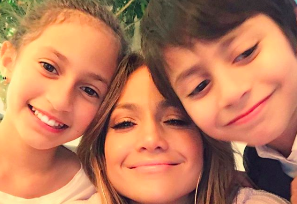 Jennifer Lopez is one proud mama! (Photo: Instagram)
