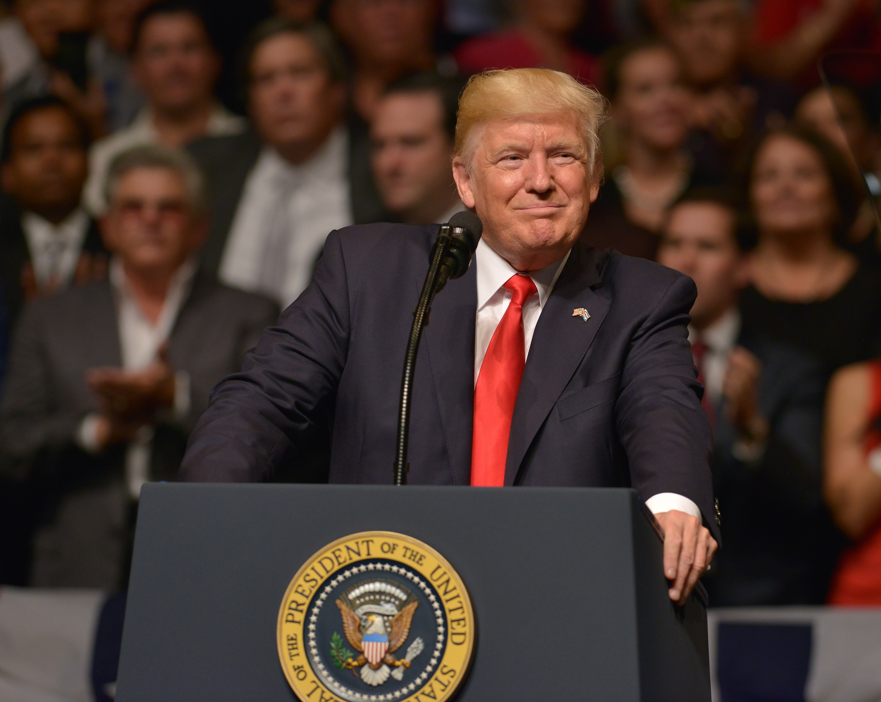 Trump couldn't hold back and tweeted about last Sunday's Emmy Awards. (Photo: WENN)